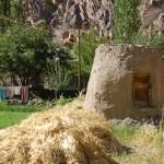 Pamiri grain silo, chadud, tajikistan