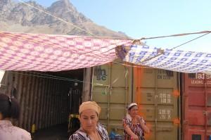 Afghan-Tajik market at Khorog